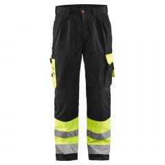 TCBL041P-1-Blaklader-Hi-Vis-Trousers-Black-Yellow