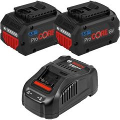 Bosch 18V Energy Starter Kit c/w 1x 4Ah ProCORE Battery & 18v Compact Charger