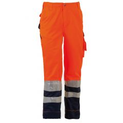 WWHE181P-1-Herock-Olympus-Hi-Vis-Trousers-Orange-Navy