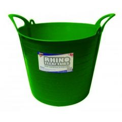 26L Rhino Flexi Tub Dark Green