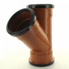 110mm 45 Deg Double Skt.Single Equal Junction - DS278