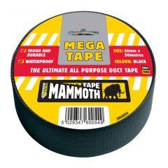 Mammoth Mega All Purpose Tape 50mmx50m Black