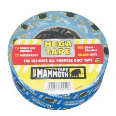 Mammoth Mega All Purpose Tape 50mmx50m Blue
