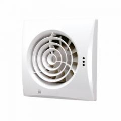 HIB Hush Fan White Finish with Safety Extra Low Voltage motor