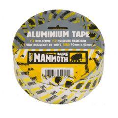 Everbuild Mammoth Aluminium Tape 50mm Wide 45 Meter Lth