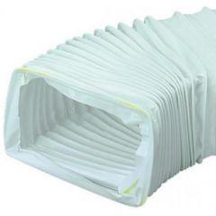 Polypipe Domus Rectangular Flexi PVC Hose - 40335