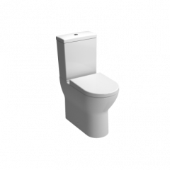 Vitra S50 Comfort Height Close Coupled WC (Open Back Pan & Cistern - Seat not included) - 5421+5422