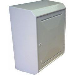 Gas Meter Box White Surface Mounted SBgas/Snnb3