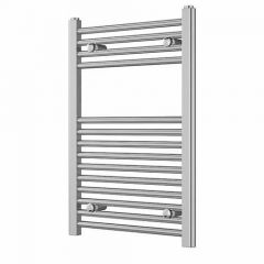 Straight Towel Rail - Chrome Plated - 22mm-750x500mm