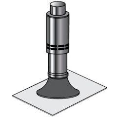 Grant White System Flat Flashing 12-26kW - VTK27F90