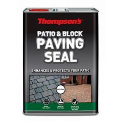 Thompsons Patio & Block Paving Seal Natural Finish 5L