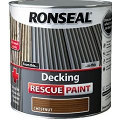 Ronseal Decking Rescue Paint Chesnut 2.5L - 37449