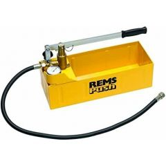 REMS Push Manual Pressure Testing Pump with Pressure Gauge - 115000 R