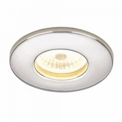 HIB LED Fire-Rated Showerlights Chrome Finish with Warm White LED