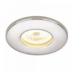 HIB Infuse LED Fire -Rated Showerlight Chrome Finish Cool White LED