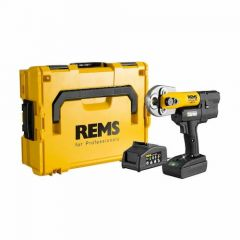 REMS Mini-Press ACC Basic Pack complete with FREE 14.4V Li-Ion Battery 1.5Ah - 578012 R220