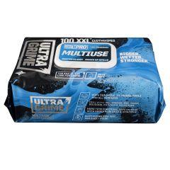 Uniwipe Ultragrime Industrial Wipes - Pack of 100
