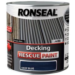 Ronseal Decking Rescue Paint Deep Blue 2.5L - 37452