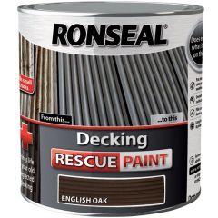 Ronseal Decking Rescue Paint English Oak 2.5L - 37450
