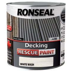 Ronseal Decking Rescue Paint White Wash 2.5L - 37614