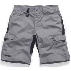 Scruffs Trade Flex Shorts Graphite