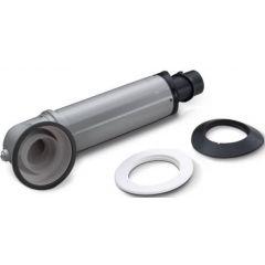 Worcester 7738112869 Telescopic Flue  (350 - 570mm) - Silver