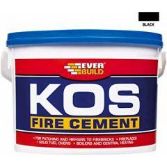 Fire Cement Kos Black 1Kg