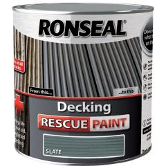 Ronseal Decking Rescue Paint Slate 2.5L - 37454