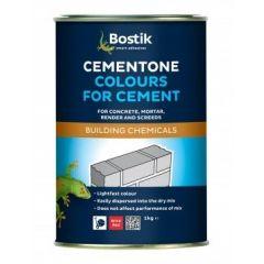 Cementone Cement Colours Black 1kg - 365162