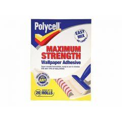 Polycell Polyfilla Max Strength Wallpaper Adhesive 20 Rolls