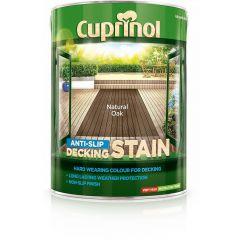Cuprinol Anti-Slip Deck/Stain 5 Litres Country Cedar