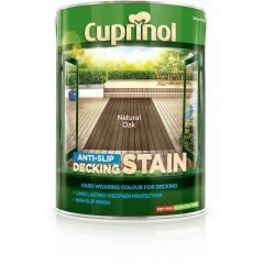Cuprinol Anti-Slip Deck/Stain 2.5 Litres Silver Birch