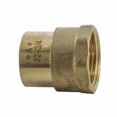 "22mmx3/4"" Fi Sr2 Solder Ring Female Adaptor"