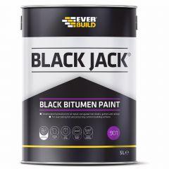 Everbuild 901 Black Bitumen Paint 5L