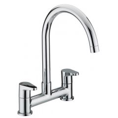 Bristan Quest Deck Sink Mixer Chrome QST DSM C