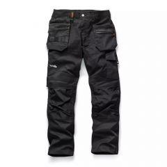 TSCR581P-1-Scruffs-Trade-Flex-Work-Trousers-Black