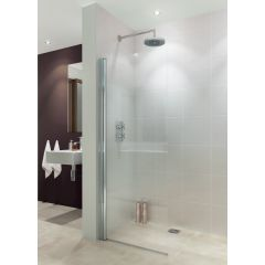 Lakes Alassio Walk In Hinged Shower Panel 800x1900mm - LK850080S