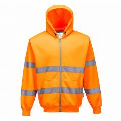 TPPW187P-1-Portwest-Hi-Vis-Hoodie-Orange