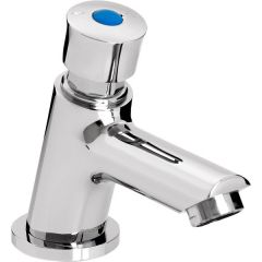 Bristan Single Luxury Soft Touch Timed Flow Tap (with flow regulator) - Z2 LUX 1/2 C