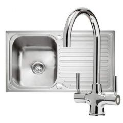 Caple Sabre 100 Sink & Tap Pack PK/SA100