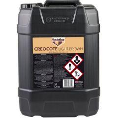 Creocote 20L Light Brown