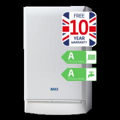 Baxi Platinum 40kW Combi Boiler ERP (10 Year Warranty)