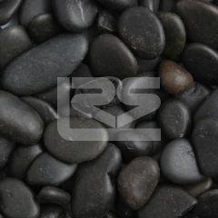 LRS Poly Bag Polished Pebbles Black 15-30mm