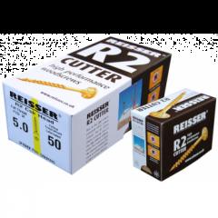 Box 200 Reisser R2 Cutter Yellow H/P Wood Screw 4.0x60mm