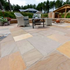 Marshalls Indian Sandstone Project Pack - Calibrated 22mm-Brown