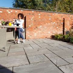 Marshalls Indian Sandstone Project Pack - Calibrated 22mm-Grey