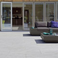 White Dolomite Porcelain Paving Pack