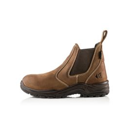 Buckler Dealerz Lightweight Non Safety Dealer Boot Brown - DEALERZ-NS