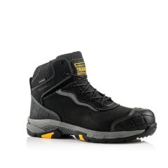Buckler Tradez Blitz Lightweight Waterproof Metal Free Safety Boots Black - BLITZ BK