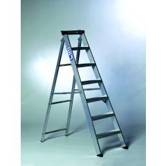 Youngman Builders Steps 8 Tread Aluminium 308997